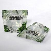 Biodegradable PLA plastic bags 4 oz ziplock stand up pouch metallic foil bag with window doypacks Manufactures