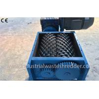 China Industrial Scrap Pet Bottle Shredder / Crusher Double Shaft Environmental Friendly for sale