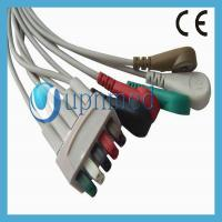 Quality GE Healthcare Compatible 3 lead ECG Leadwire - S2424557; Reusable EKG Cable with for sale