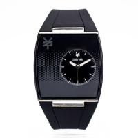 Black Wristband Watch Silicone Men Personalized Silicone Sport Watches Manufactures