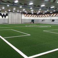 Anti UV Eco Artificial Grass Waterproof Carpets For Football Soccer Stadium Manufactures