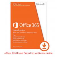 Office Product Key With Office 365 Home Premium FPP Key For 1 Year Activate Online Manufactures