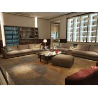 China Contemporary High End Design Wide Seat European Leather Sofa on sale