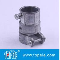 Zinc Flexible Metal EMT Conduit And Fittings , Combination Connector Manufactures