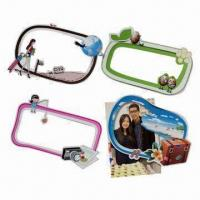 Magnetic photo frames, measures 170x110mm, customized shapes are accepted Manufactures