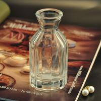 China Diffuser Glass Perfume Bottles / Clear Glass Reed Diffuser Bottle on sale