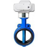 Buy cheap EPDM lined Electric Actuator Butterfly Valve For Drink Water , 2