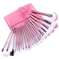 beauty brush make up face brush pink color girl