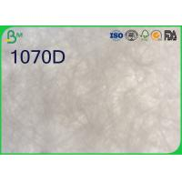 1056D 1057D Tyvek Paper Sheets , White Paper Roll For Silica Gel Sachets Manufactures