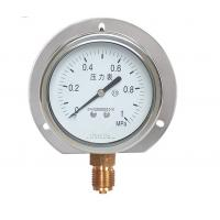 Gb/t1226-2001 Melt Pressure Gauge , Stainless Steel Thermocouple Pressure Gauge Manufactures