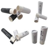 Full Color Cosmetic Tube Packaging / Printed Paperboard Deodorant Tubes Manufactures