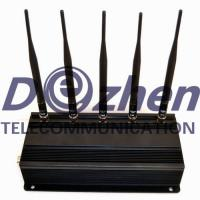 China Universal Cell Phone Jammer Device Remote Controlled 20 Meters Radius on sale