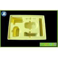 Hairy Skin Care Yellow Flocking Tray Cosmetics for Beauty Industry Manufactures