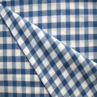 China 100% 40s,32s cotton yarn dyed/plaid/tartan/check fabric for men shirting fabric on sale