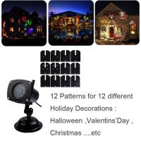 Holiday Light Romantic Moving Sparkling LED Snowflake Landscape Laser Projector Wall Lamp Xmas Light Bar Wedding Party Manufactures