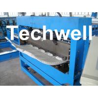 500mm Curving Radius PLC Control Bull Nose Cranking Machine To Curve IBR Sheets Manufactures