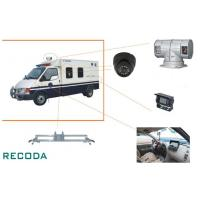 """1/3"""" Sony CCD 360 Degree Rotation Armed Escort Vehicle Security Camera System Manufactures"""