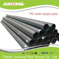 110-400mm HDPE pipe&fitting virgin PE100 superior material pipe hdpe for water supply Manufactures