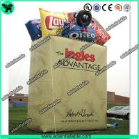 China Snacks Promotional Inflatable Bag Replica/Advertising Inflatable Bag Model on sale