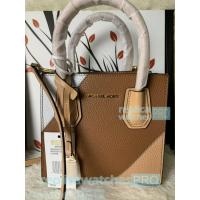 New Knockoff Michael Kors Mercer Brown Genuine Leather Women's Bag Manufactures
