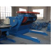5 Tons Loading Capacity with Tilting and Revolving Welding Positioner , Foot Pedal Tilting Rotation Arc Welding Table Manufactures
