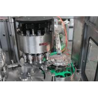 Rotary Water Bottle Filling Machine , Purified Liquid Bottling Machine Manufactures
