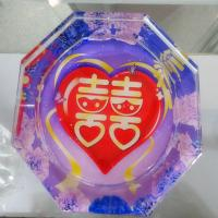 Crystal ashtray product Manufactures