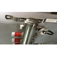 Quality Classical Floor Heating System Brass Pex Manifold With Short Flow Meter Manufactures