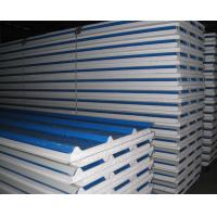 China EPS Foam Thermal Insulated Sandwich Panel Lightweight 0.3 - 0.8mm Steel Thickness on sale
