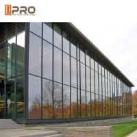 Construction Customized Aluminium Curtain Wall Tempered Laminated Insulated Glass Manufactures