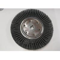 350MM OD Knotted Wire Wheel Brush Double Section Standard High Elongation Manufactures