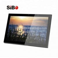 OEM Custom Android Inwall Mount Tablet With POE NFC Reader LED Light For Meeting Room Manufactures