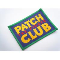 Handmade Custom Clothing Patches Embroidered Brand Logo Patch Manufactures