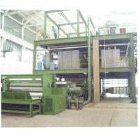 Polypropylene Non Woven Fabric Production Line , Nonwoven Spunbond Machine / Equipment Manufactures