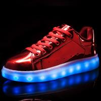 Endurable Adult Light Up Shoes , Sneakers With Light Up Soles Wear - Resistant Manufactures