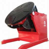 Welding Positioner/Turntable, CE-certified, 5,000kg Rated Loading Capacity Manufactures
