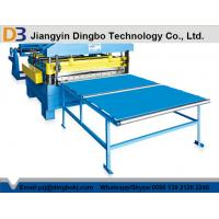 China Hydraulic Post Cutting Simple Cut To Length Line , Steel Slitting Machine on sale