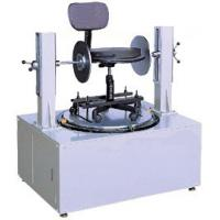 Micro computer controller Chair Testing Machine , Office Chair Swivel Cycling Durability Tester Manufactures