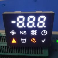 Enhanced Background Multicolor Custom LED Display For Refrigerator 0.4 Inch Manufactures