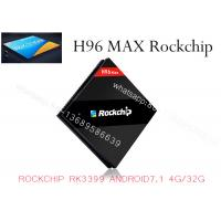H96 MAX RK3399 Hexa Core 2.0Ghz 4K TV BOX Android 7.1 4GB/32GB Type-C USB3.0 AC WIFI 1000M LAN Bluetooth Manufactures