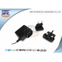 Glucose Meter AC DC Switching Power Supply Black 0.3A - 2.1A Current Manufactures