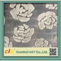 Modern Chenille Sofa Fabric / chenille jacquard  fabric For Furniture Manufactures