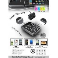 China 3 in 1 Iphone 4 FM Transmitters / Handsfree Speaker with 1300MAH Rechargeable Battery on sale
