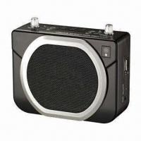 Waistband Voice Amplifier with MP3 Player and Lithium Battery Manufactures