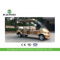 Curtis Controller Electric Shuttle Bus , 4kW DC Motor 8 Seater Electric Car Manufactures
