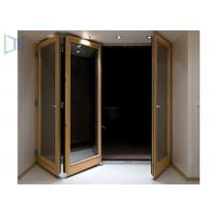 Customerized Size Aluminium Folding Doors With Powder Coating Surface Treament Manufactures
