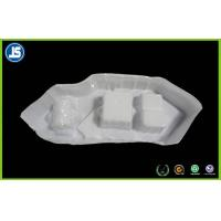 White Plastic ESD Trays PVC With Embossing Pringting For Medication Manufactures