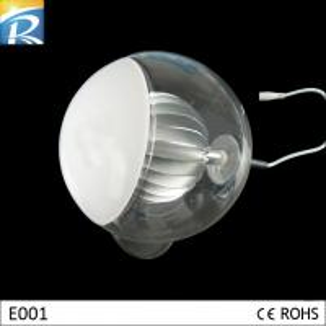 Bule 16W 0.5A, 50 - 60Hz 5.6V DC Extruded Aluminum / Glass LED Decorative Lighting Manufactures
