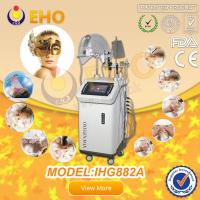 The latest oxygen injection whitening skin machine with LED PDT RF Ultrasonic treatment Manufactures