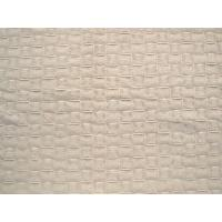 Professional Plain Warm White Chenille Fabric By The Yard 200g/㎡ Weight Manufactures